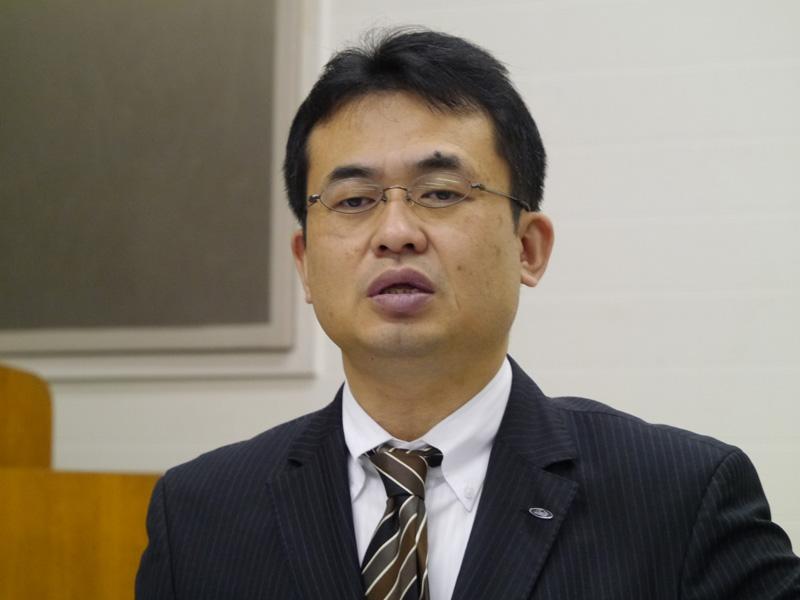 シャープ ソーラーシステム事業本部ソーラーシステム事業部・宗俊昭広副事業部長