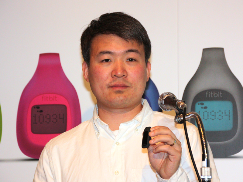 Fitbitのジェームズ・パークCEO