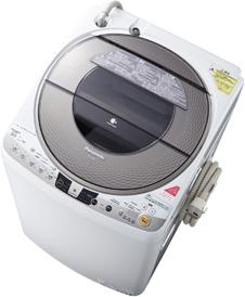 洗濯容量9kg、乾燥容量4.5kgの「NA-FR90S7」シャンパン