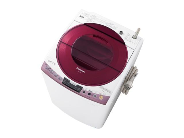 洗濯容量7kgの「NA-FS70H6」。本体カラーはピンクとブルーの2色。写真はピンク