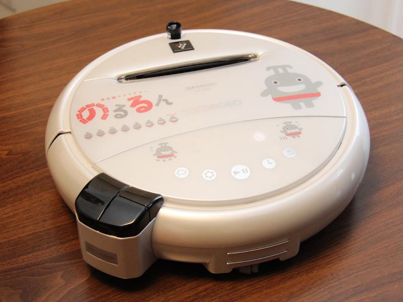 調査モデルのココロボには、東急線のマスコットキャラ「のるるん」がデザインされている