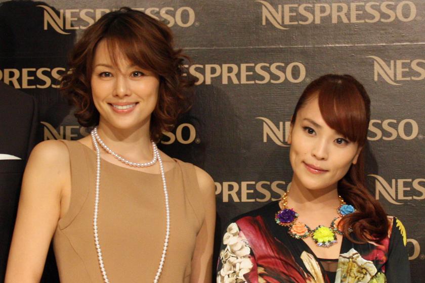 女優の米倉涼子さんとアーティストの清川あさみさん