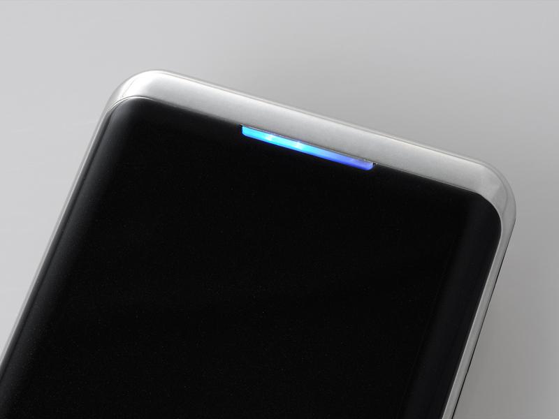 バッテリー残量をLEDランプで表示