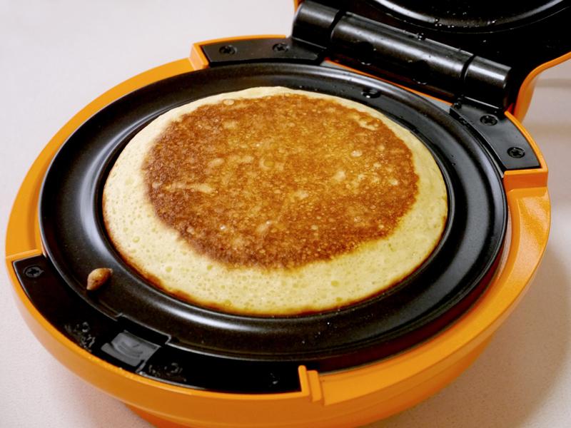 焼き上がったパンケーキ