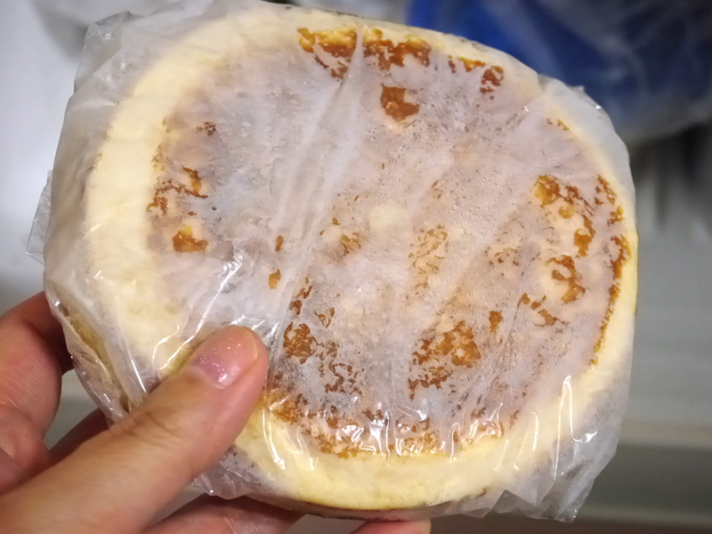たくさん焼いたら、小分けして冷凍保存