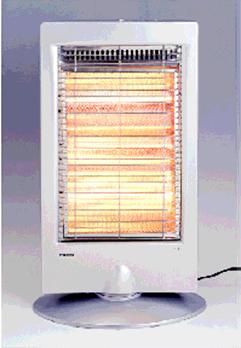 フカダックの電気ストーブ