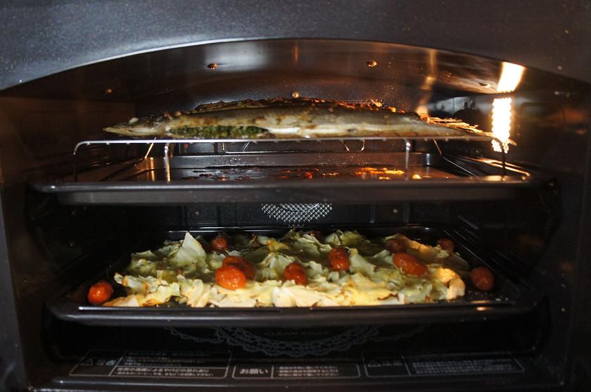 2段で調理する