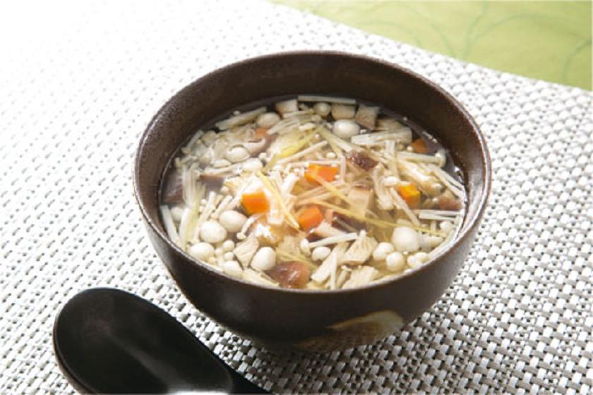 同「生姜入り和風スープ」