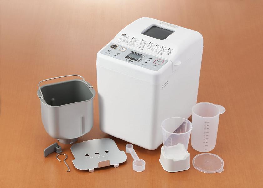 付属品として計量カップや発酵容器が付属する