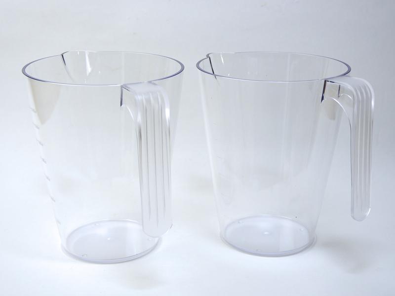 標準で2個ついてくるジュースカップ。1つにつき1400ml入る