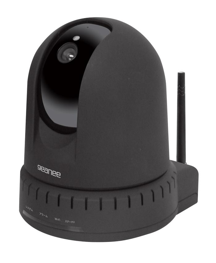 有線/無線LAN対応ネットワークカメラ MK-IPC1