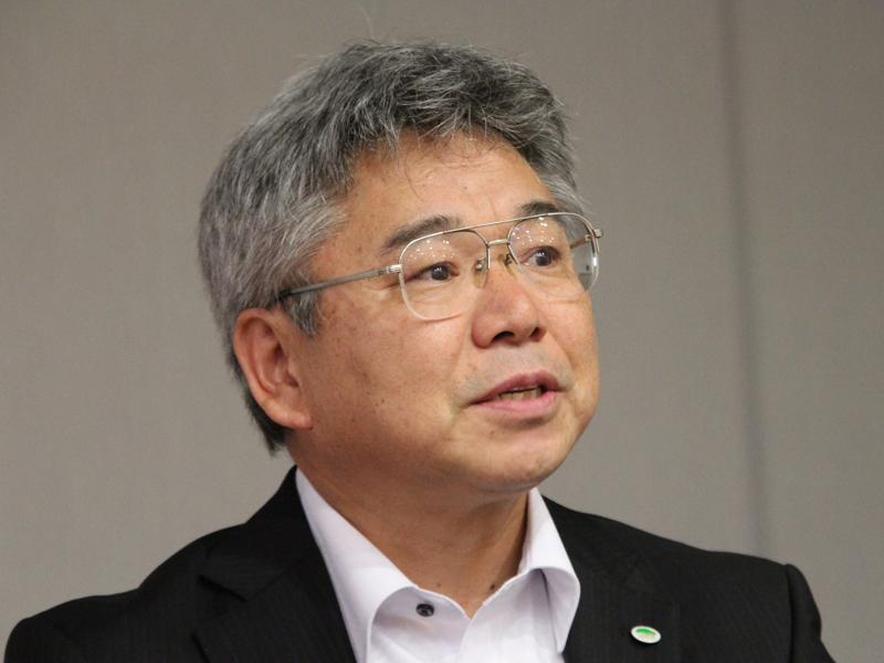 日立アプライアンス取締役 環境ビジネス機器事業部長 松田美智也氏