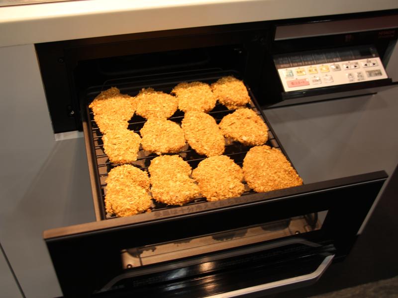 調理イメージ。写真はヒレカツを調理したところ