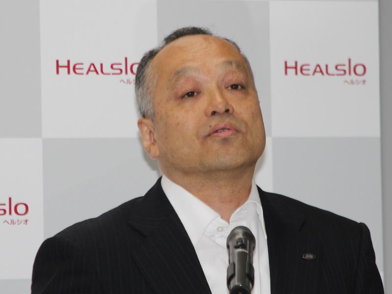 シャープ 健康・環境システム事業本部 調理システム事業部 事業部長の冨林達実氏