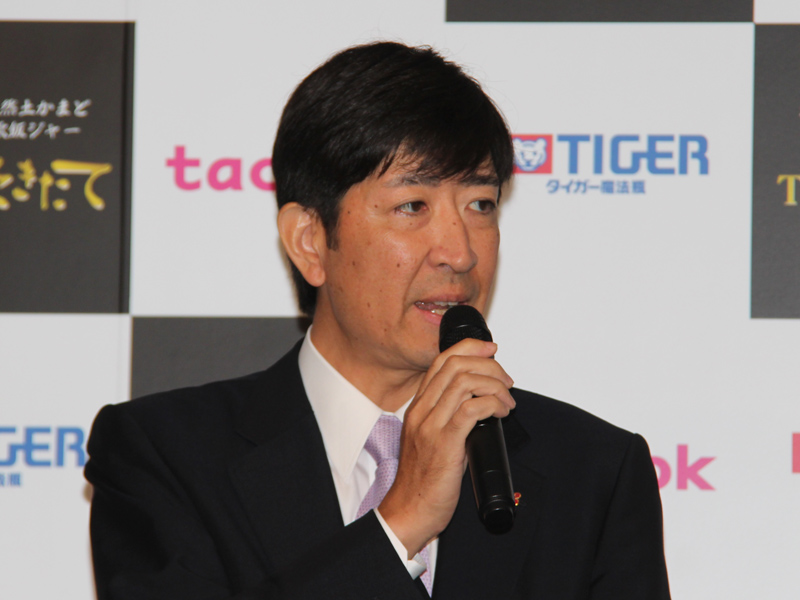 タイガー魔法瓶の菊池嘉聡 代表取締役社長