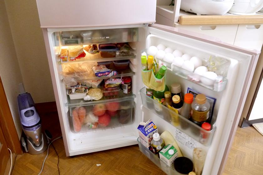 常にギューギュー詰めだった冷蔵室