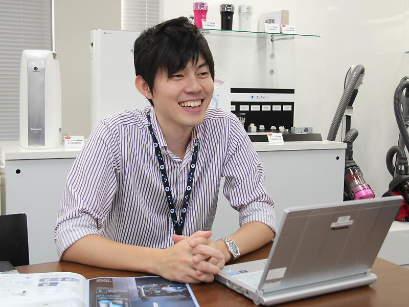 パナソニックのリビングアプライアンスチーム 主事 鹿窪亮佑氏