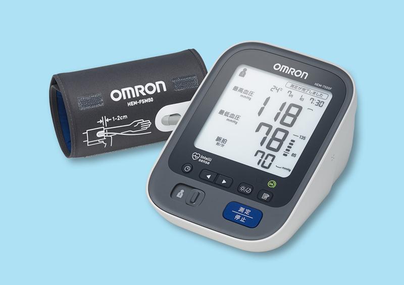 上腕式血圧計 HEM-7500F