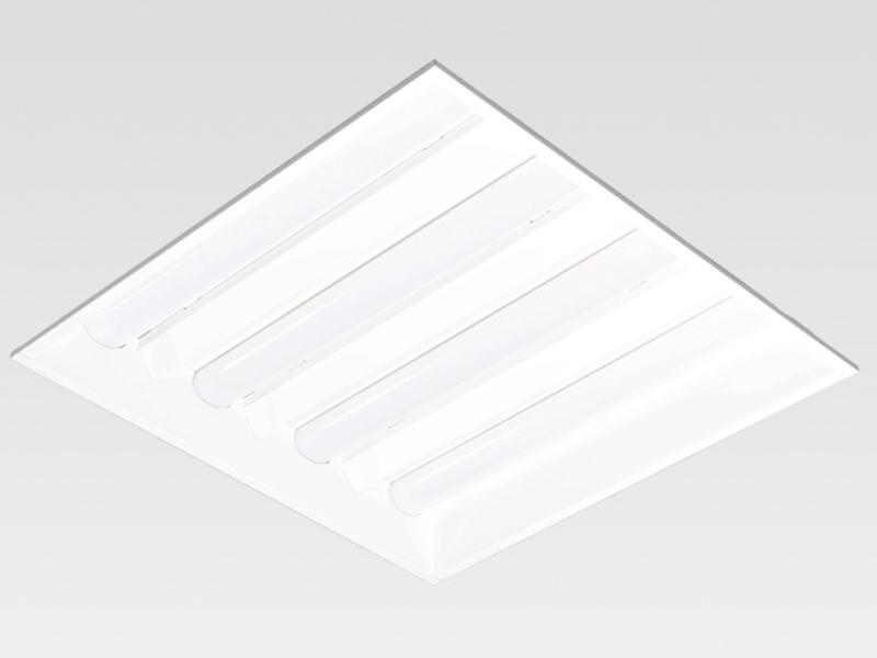 スクエア型LED照明器具 埋込型下面開放