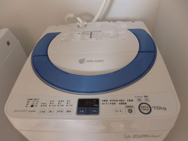 シャープ 全自動洗濯機 ES-GE70N(7kgタイプ)