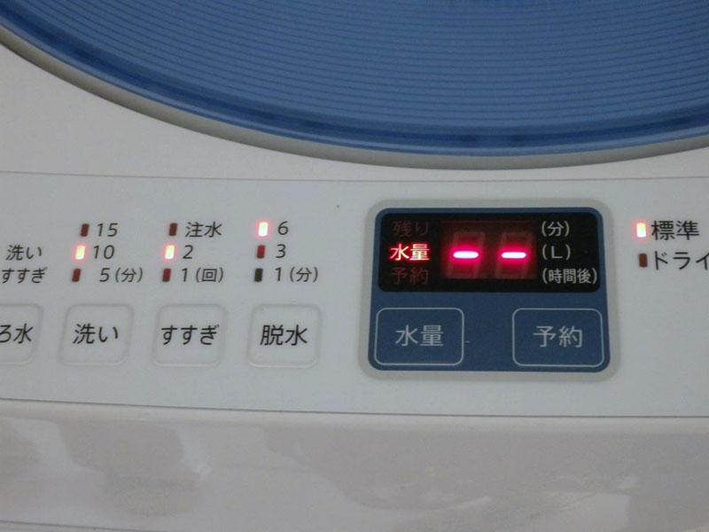 洗濯時に残り時間表示がされるため、次の人が使う際の目安になるのも選んだポイントの1つ