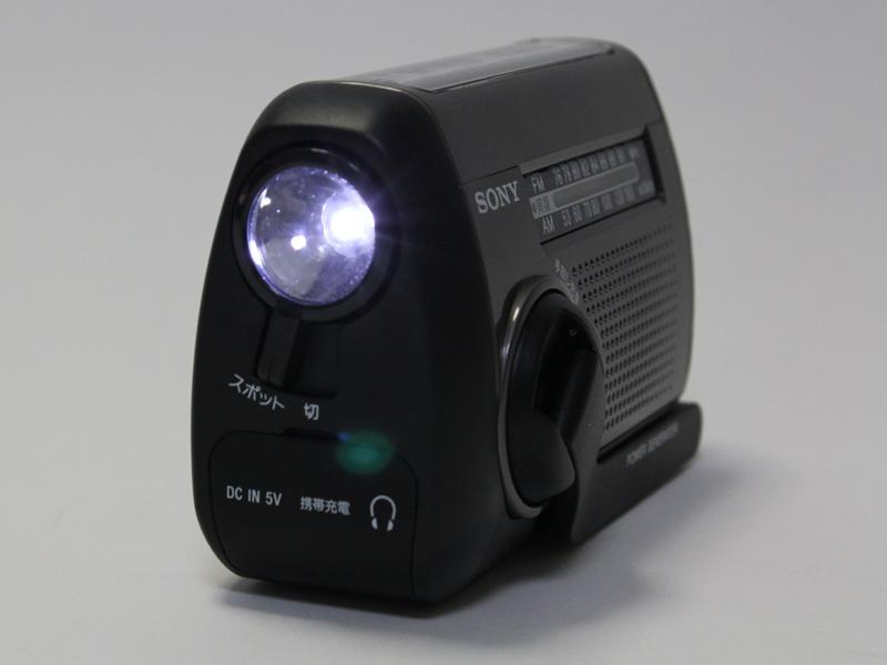 LEDスポットライトを搭載