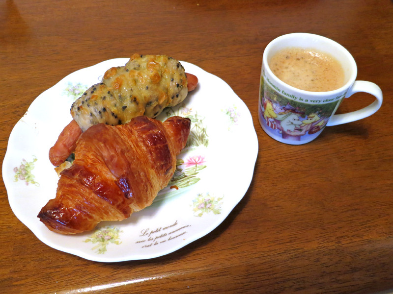 朝食のクロワッサンとも合う