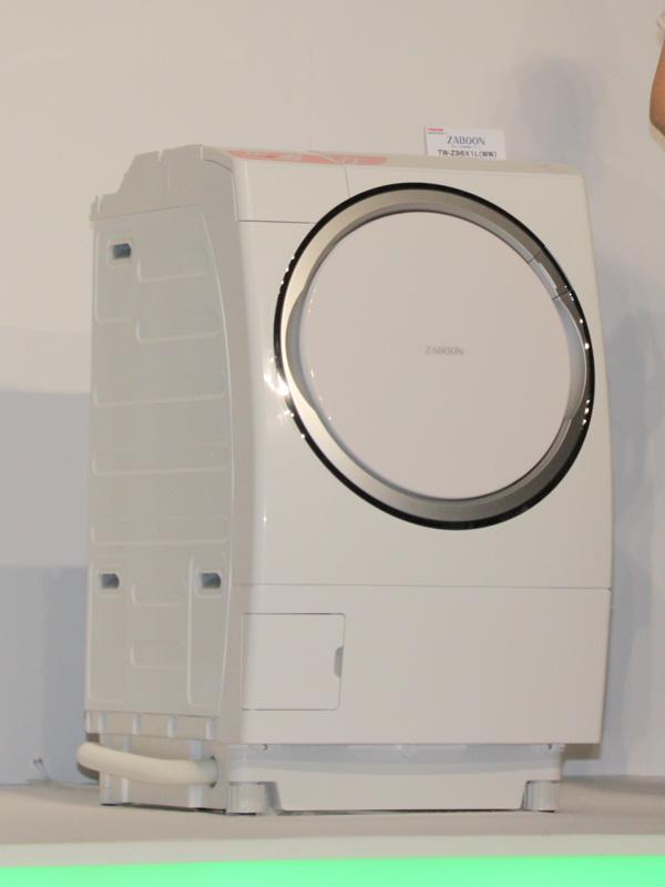 ドラム式洗濯乾燥機「ヒートポンプドラム ZABOON(ザブーン) TW-Z96X1」