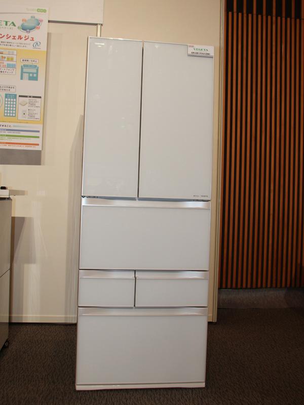 11月上旬より順次発売される冷蔵庫「VEGETA(ベジータ) GR-G56FXV/GR0G51FXV」