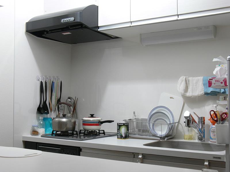 """<strong class="""""""">【昼白色 LDA10N-G/Z60/W】</strong><br class="""""""">白熱電球よりも明るい印象になった。自然な白色の光は食材の色がわかりやすく、汚れも見えやすい。キッチンに適した光色だ"""
