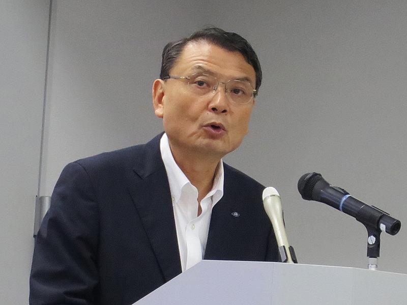 シャープの健康・環境事業統括 山田達二 健康・環境国内統括営業部長