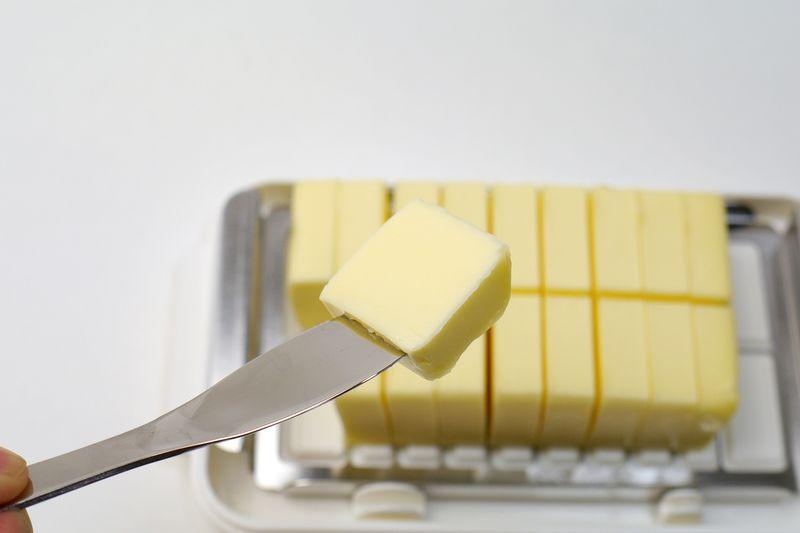 バターナイフで1つずつ取り出して使える
