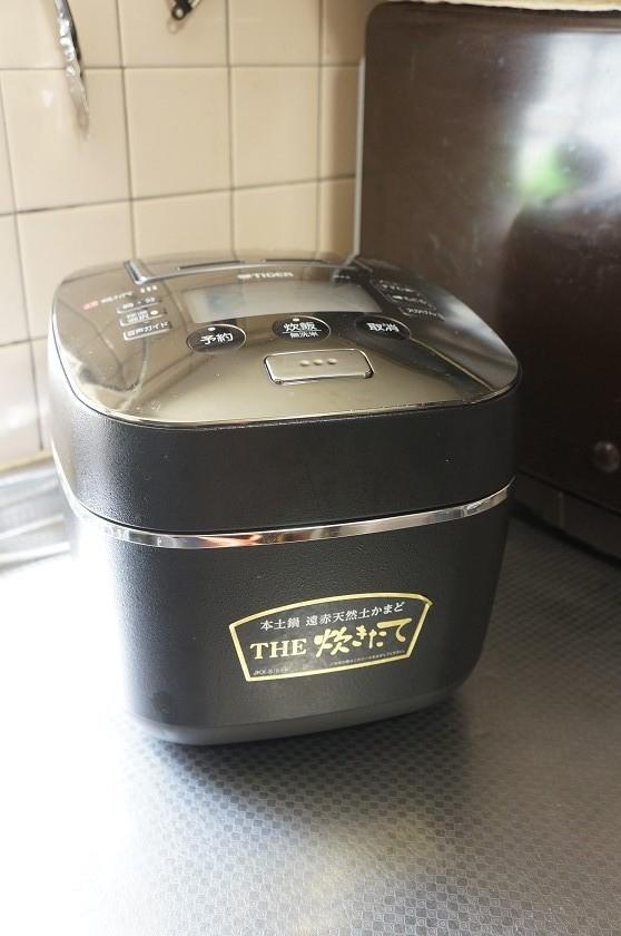 タイガー魔法瓶「土鍋圧力IH炊飯ジャー THE炊きたて JKX-S100」