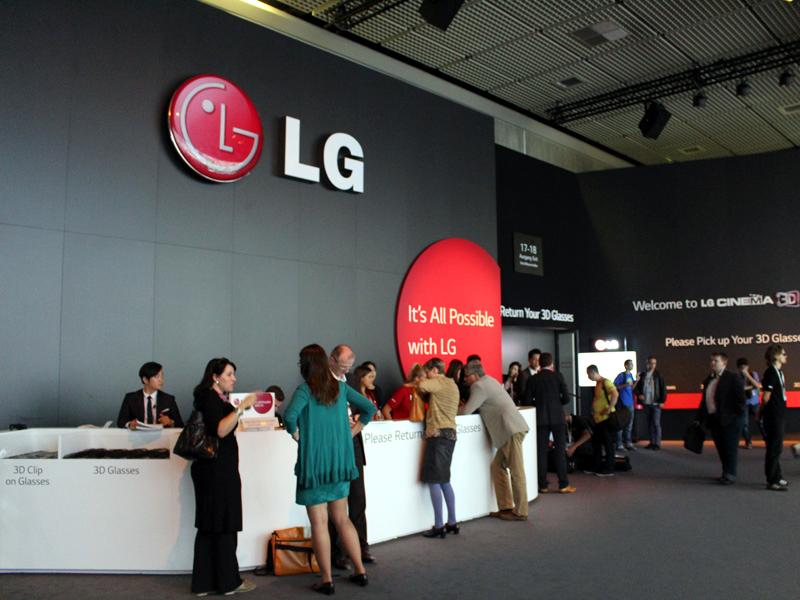 LGのブース