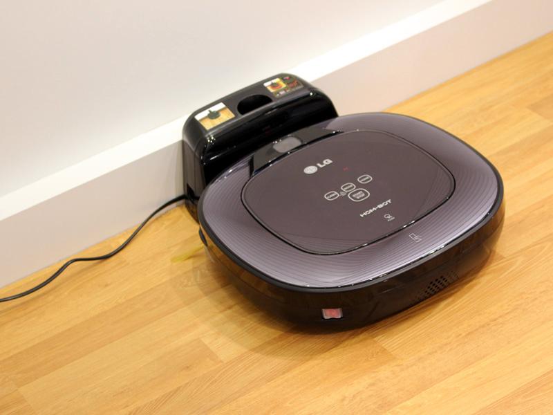 音声認識機能が搭載されたロボット掃除機