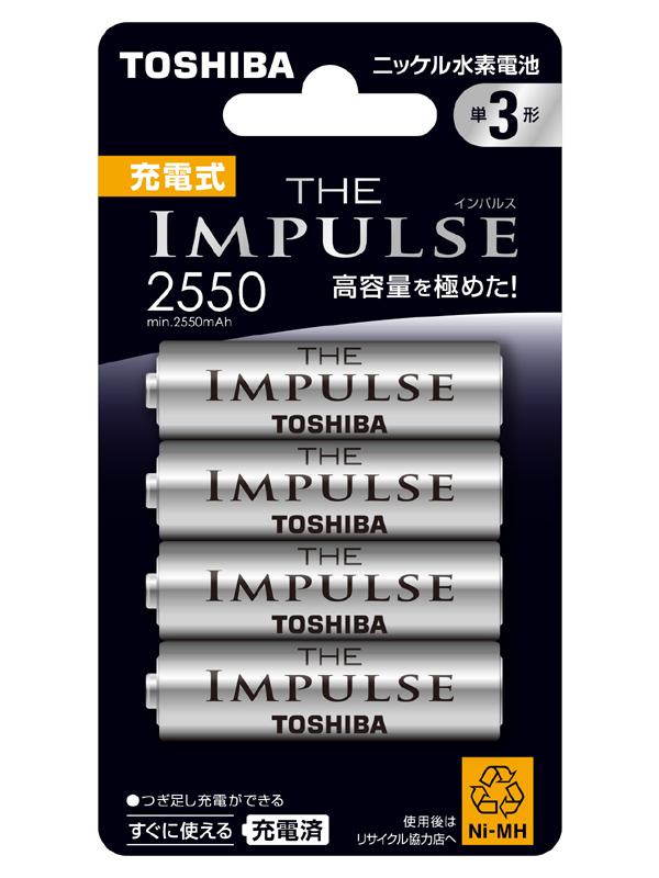 単三形ニッケル水素電池「THE IMPULSE TNH-3AG 4P」