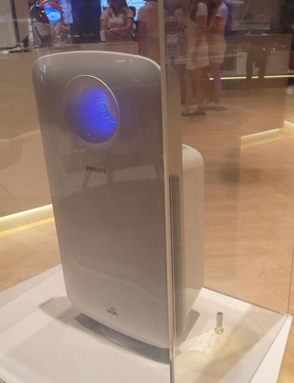 Wi-Fi対応の「スマート空気清浄機」