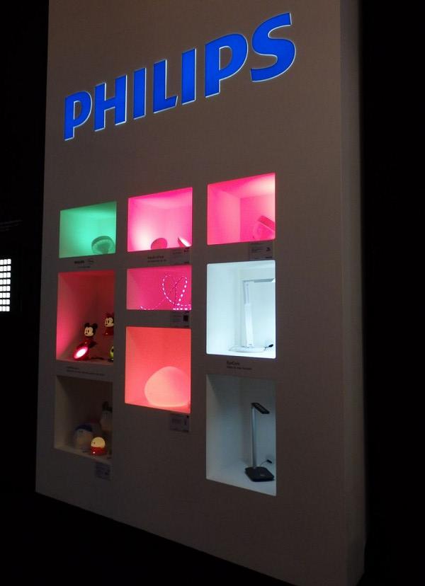 1600万色の色を表現することができるLED照明「hue」