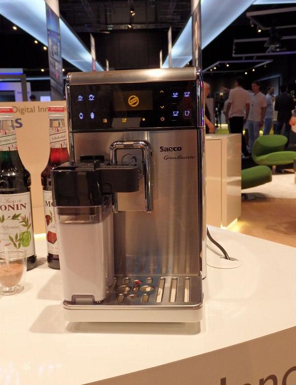 フィリップス傘下に入ったSaecoのコーヒーマシン