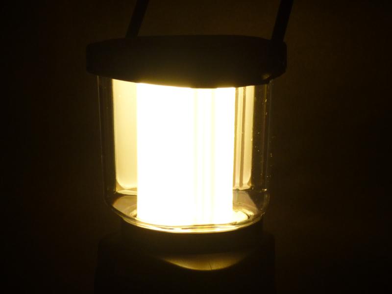 導光板は全体がむらなく光る