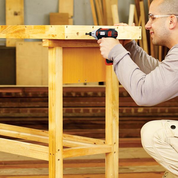 家庭の大型家具の組み立てに適しているという