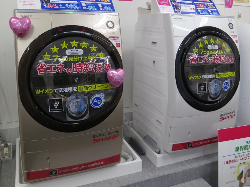 プラズマクラスター洗濯乾燥機 ES-Z110