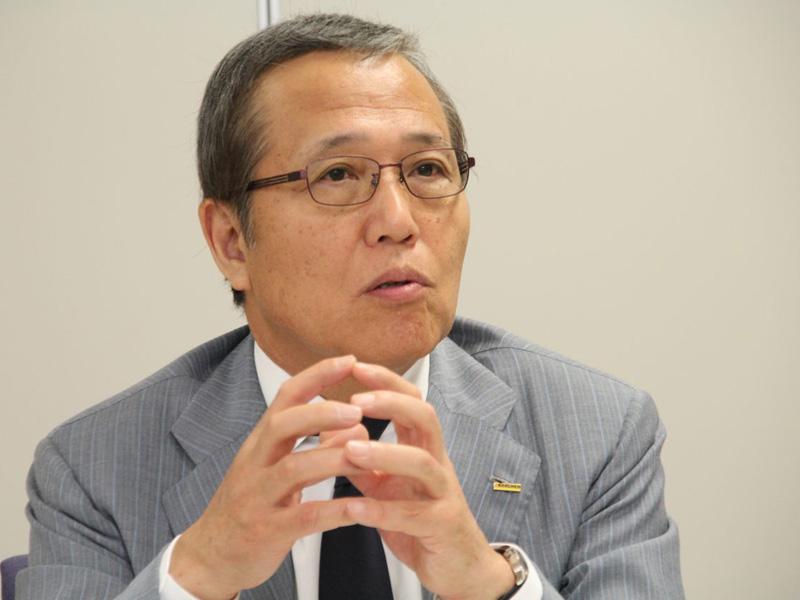 ケルヒャー ジャパン代表取締役社長の佐藤八郎氏