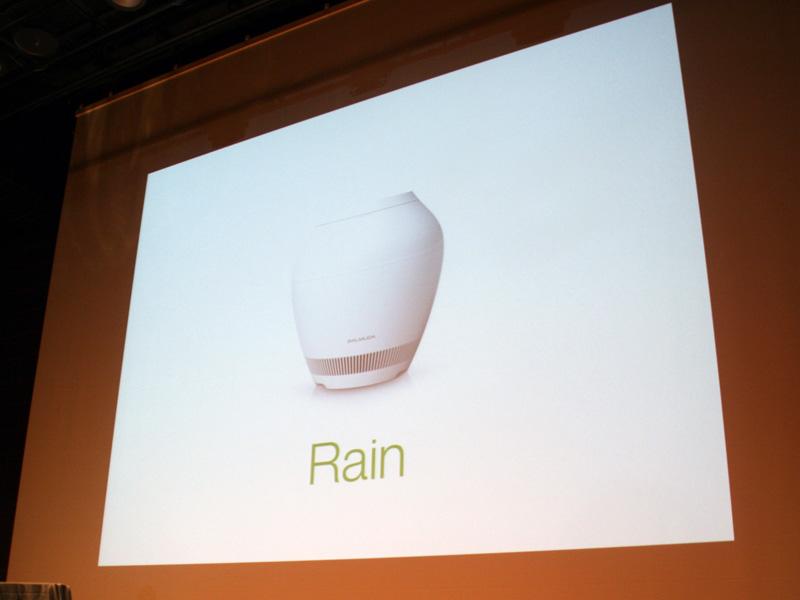 デザインや構造が従来の加湿器とは全く異なる