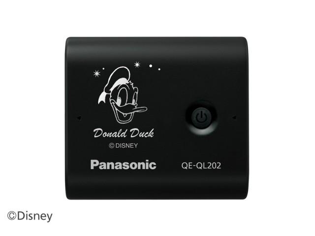 ドナルドダック柄の「QE-QL202DD」
