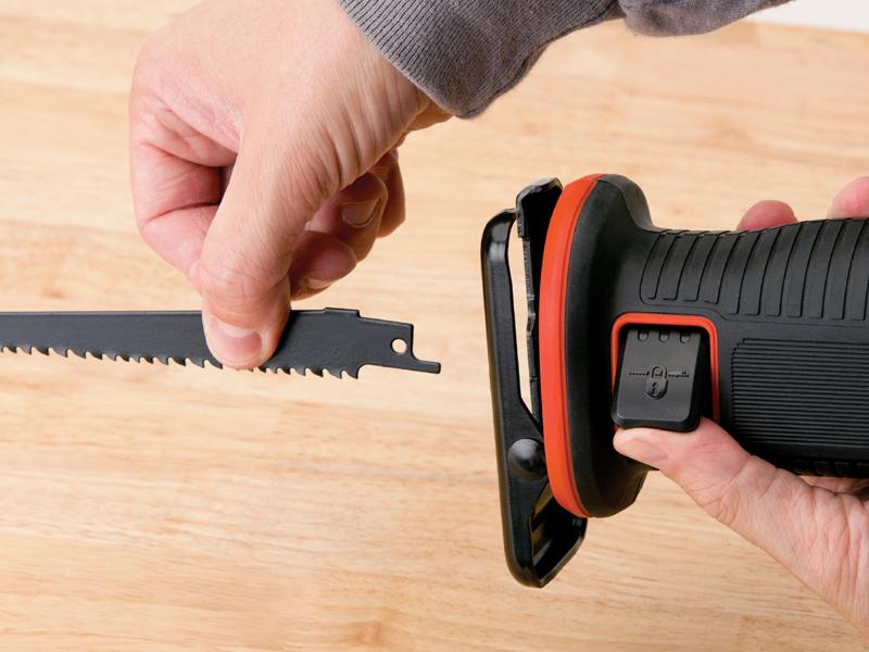ブレード(刃)の交換が簡単な「クイッククランプ機能」