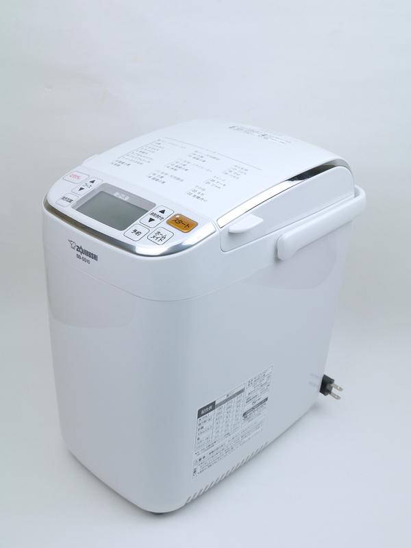ビギナーからこだわり派まで、幅広いニーズに応えられる「パンくらぶ BB-SS10型」。外形寸法は225×315×345mm(幅×奥行き×高さ)で、重さは約7.5kg