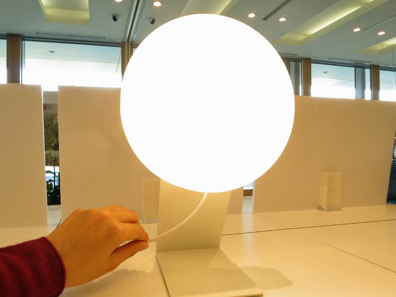 無印良品の「壁掛式LED照明」