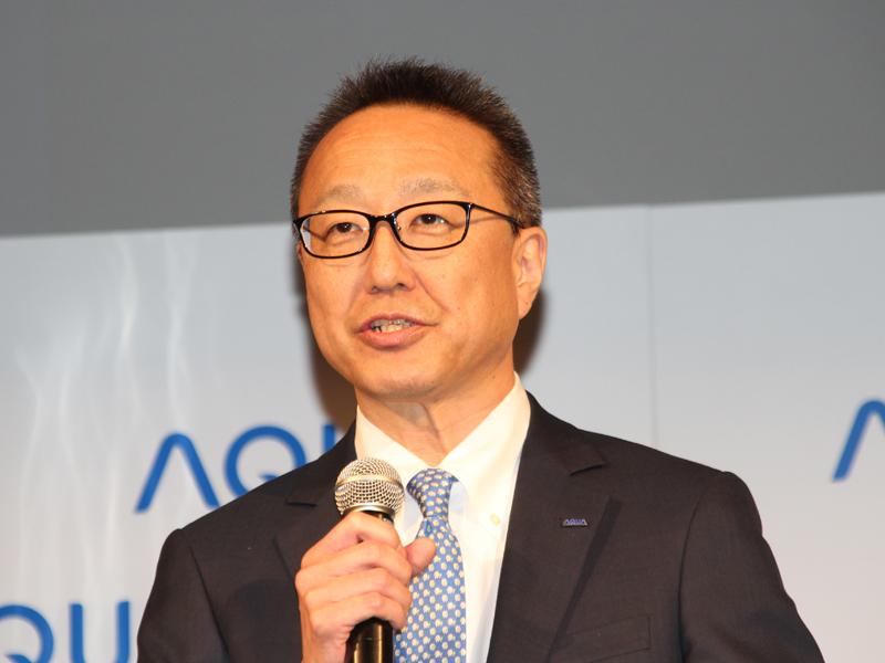 ハイアールアクアセールス 中川喜之代表執行取締役社長