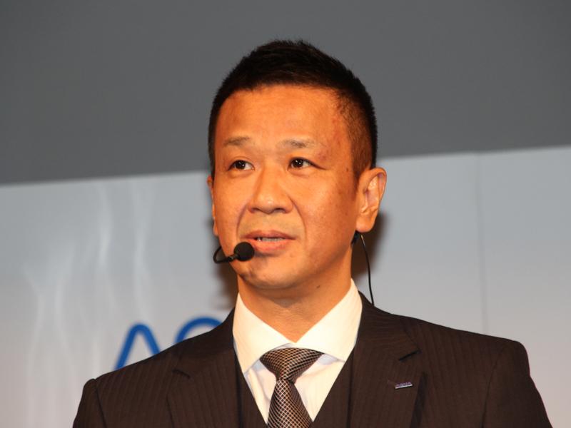 ハイアールアクアセールス 商品統括部 統括部長の森田昌治氏
